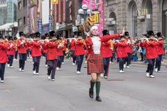 Desfile del día de St Patrick en Toronto imagen de archivo