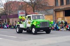 Desfile del día de St.patty Imágenes de archivo libres de regalías