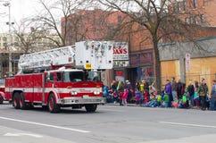 Desfile del día de St.patty Foto de archivo libre de regalías