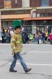 Desfile del día de St.patty Fotografía de archivo libre de regalías