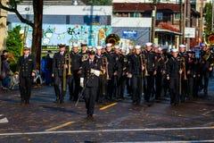 Desfile 2015 del día de veteranos Fotografía de archivo libre de regalías