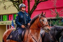 Desfile 2016 del día de veteranos Fotos de archivo libres de regalías