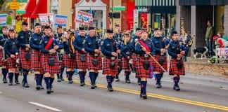 Desfile 2016 del día de veteranos Fotografía de archivo libre de regalías