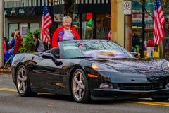 Desfile 2016 del día de veteranos Foto de archivo libre de regalías