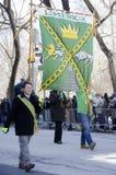 Desfile del día del ` s de New York City St Patrick Imagen de archivo libre de regalías