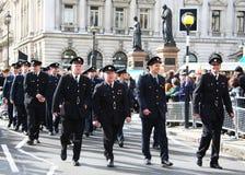 Desfile del día del St Patrick. Imágenes de archivo libres de regalías