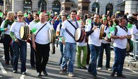 Desfile del día del St Patrick. Fotos de archivo