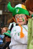 Desfile del día del St Patrick. Imagenes de archivo
