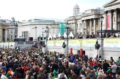 Desfile del día del St Patrick. Imagen de archivo libre de regalías