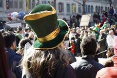 Desfile del día del St. Patrick Fotografía de archivo libre de regalías