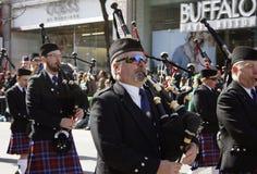 Desfile del día del St. Patrick Fotos de archivo