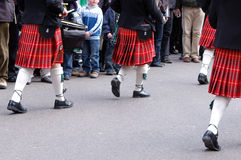 Desfile del día del St Patrick fotos de archivo libres de regalías