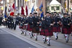 Desfile del día del St patrick imagen de archivo libre de regalías