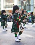 Desfile del día del St. Patrick Imagen de archivo