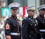 Desfile del día del St. Patrick Fotografía de archivo