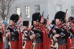 Desfile del día del St. Patrick de New York City Fotografía de archivo libre de regalías