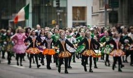 Desfile del día del St Patricks Fotos de archivo libres de regalías