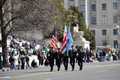 Desfile del día del ` s de St Patrick Fotos de archivo libres de regalías