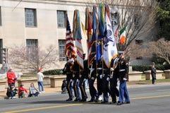 Desfile del día del ` s de St Patrick Foto de archivo