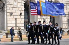 Desfile del día del ` s de St Patrick Imagen de archivo