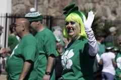 Desfile del día del ` s de St Patrick en Phoenix, Arizona Fotos de archivo libres de regalías