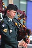 Desfile del día del ` s de St Patrick, Ottawa, Canadá Foto de archivo libre de regalías