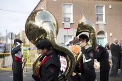 Desfile del día del St. Patricks Imágenes de archivo libres de regalías