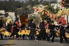 Desfile del dragón Imagen de archivo libre de regalías
