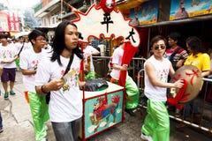 Desfile del festival de Cheung Chau DA Jiu Imagen de archivo