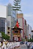 Desfile del festival de Gion, Kyoto Japón en verano fotos de archivo