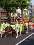 Desfile del festival de Kanda Fotografía de archivo libre de regalías