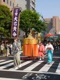 Desfile del festival de Kanda Imagen de archivo libre de regalías