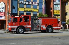 Desfile 2015 del festival de Los Ángeles Corea Fotos de archivo libres de regalías