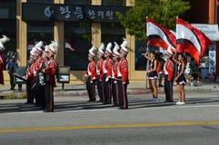 Desfile 2015 del festival de Los Ángeles Corea Imagenes de archivo