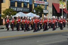 Desfile 2015 del festival de Los Ángeles Corea Imagen de archivo