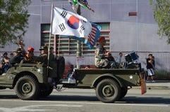 Desfile 2015 del festival de Los Ángeles Corea Fotografía de archivo libre de regalías