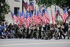 Desfile del Memorial Day del nacional 2008 imagen de archivo libre de regalías