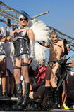 Desfile 2012 del orgullo de Roma Imagen de archivo