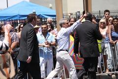Desfile del orgullo en Chicago 2011 fotos de archivo