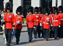 Desfile del soldado foto de archivo libre de regalías