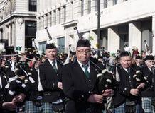 Desfile del St patrick Imágenes de archivo libres de regalías