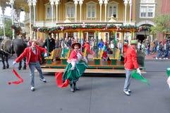 Desfile eléctrico de la calle principal en Disney Orlando Imagen de archivo libre de regalías