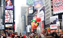 Desfile el 26 de noviembre de 2009 del día de la acción de gracias de Macy Imágenes de archivo libres de regalías