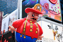 Desfile el 26 de noviembre de 2009 del día de la acción de gracias de Macy Imagen de archivo libre de regalías