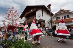 Desfile el Brasil de la Navidad de Gramado Fotos de archivo