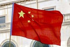 Desfile en Barcelona del Año Nuevo chino Imágenes de archivo libres de regalías