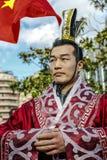 Desfile en Barcelona del Año Nuevo chino Foto de archivo libre de regalías