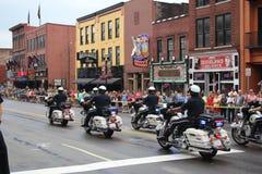 Desfile en Broadway en Nashville, Tennessee imágenes de archivo libres de regalías