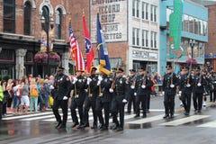 Desfile en Broadway en Nashville, Tennessee Imagen de archivo libre de regalías