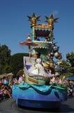 Desfile en Disneylandya Fotografía de archivo libre de regalías